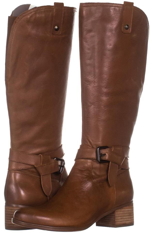 ea0ead15abf1 Naturalizer Brown Dev Riding 115 Saddle Tan   38 Eu Boots Booties ...