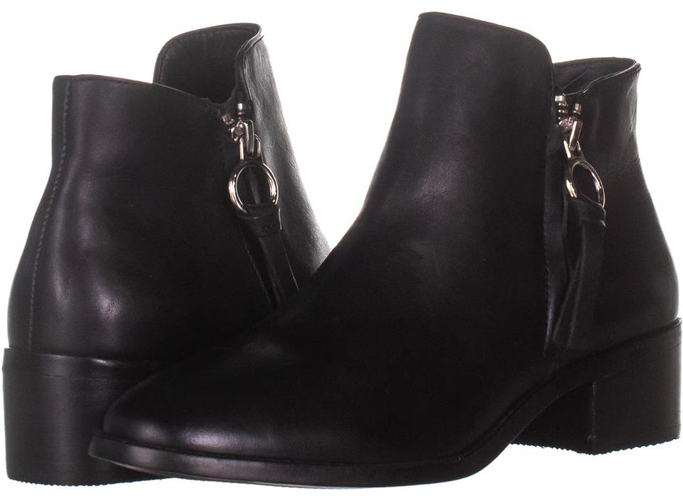 outlet on sale temperament shoes attractive price Steve Madden Black Dacey Ankle 037 Leather Boots/Booties Size US 7.5  Regular (M, B) 44% off retail