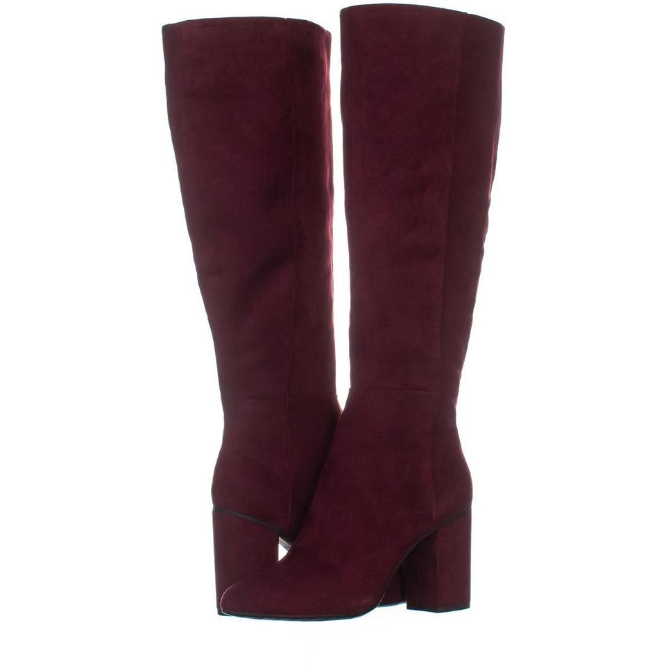 76a505c8941 Kenneth Cole Red Reaction Time To Step Knee-high 830 Burgundy Boots Booties  Size US 5 Regular (M