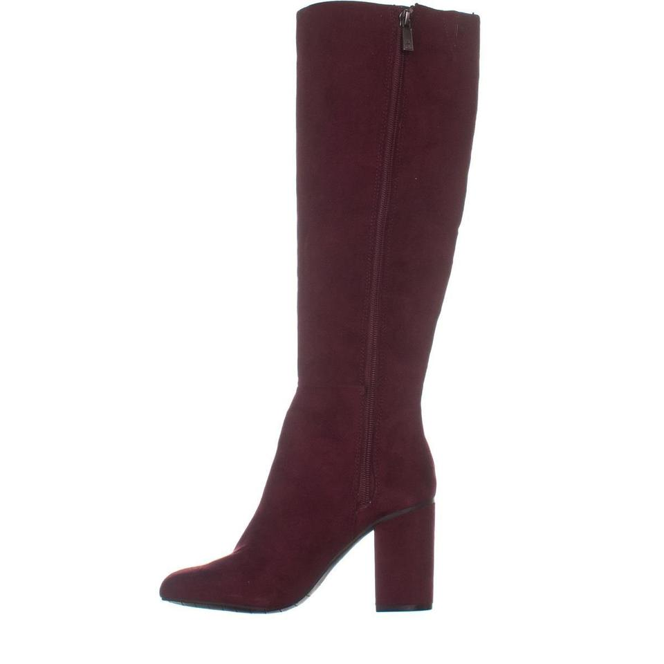 ae5d3cb473c Kenneth Cole Red Reaction Time To Step Knee-high 830 Burgundy Boots ...