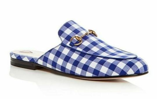 Preload https://img-static.tradesy.com/item/24949716/gucci-blue-horsebit-princetown-white-plaid-check-slide-loafer-mule-slipper-flats-size-eu-375-approx-0-0-540-540.jpg