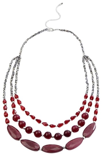 Preload https://img-static.tradesy.com/item/24949740/j-jill-cabernet-multi-strand-necklace-0-1-540-540.jpg