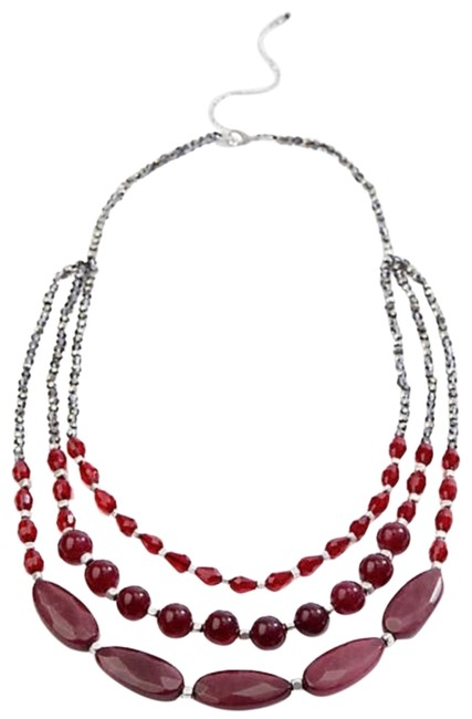 J. Jill Cabernet Multi Strand Necklace J. Jill Cabernet Multi Strand Necklace Image 1