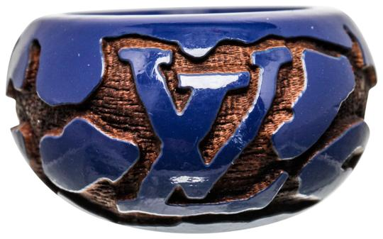 Preload https://img-static.tradesy.com/item/24950246/louis-vuitton-blue-resin-with-wood-inlay-size-55-488677-ring-0-1-540-540.jpg