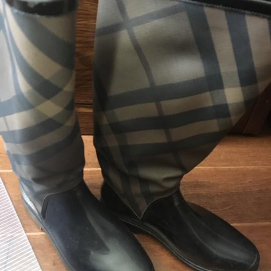 Burberry Black Boots Image 6