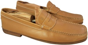 Tod's Man Size 9.5 Penny Loafers tan Formal