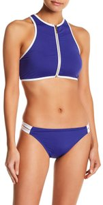 f07dbd9523 Juicy Couture Juicy Couture Zip Front Rashguard   Bikini Set M Blue