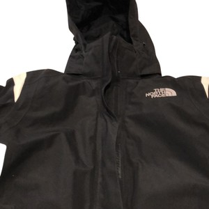 The North Face black/white Jacket