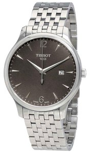 Tissot T-Classic Collection Stainless Steel Quartz Round Men's Watch