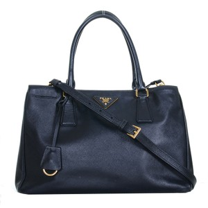 784387c057bd0a Added to Shopping Bag. Prada Satchel in Black. Prada Lux Medium 2 Way Tote  Purse Black Saffiano Leather Satchel