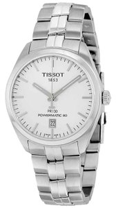 Tissot PR 100 Swiss Made Automatic Stainless Steel Round Men's Watch
