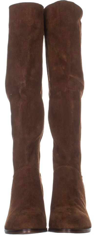 5e341113a4d Steve Madden Brown Giselle Knee High 464 Chestnut Suede Boots/Booties Size  US 11 Regular (M, B) 60% off retail