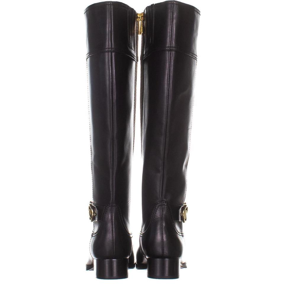 91a8ac359 Michael Kors Black Harland Riding 419 / 35 E Boots/Booties Size US 5 ...
