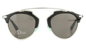 dd5b91b8a2ce3 Dior Gold and Black So Reals Sunglasses - Tradesy