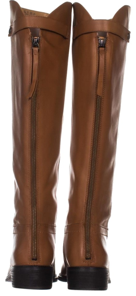 7fce13e0aca Franco Sarto Brown Brindley Equestrian 343 Whiskey Leather   Boots Booties