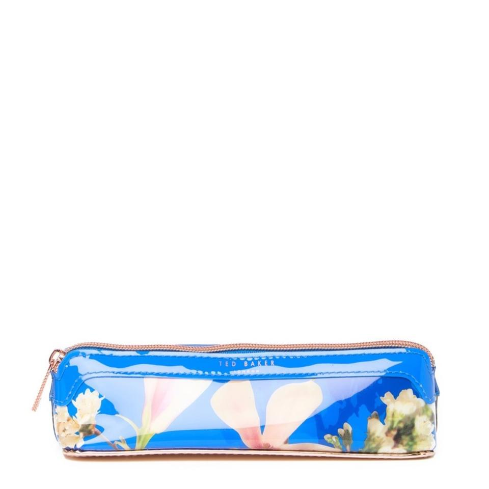 6babf8dd6f46d Ted Baker Bright Blue Danny Harmony Makeup Brush Pencil Cosmetic Bag ...