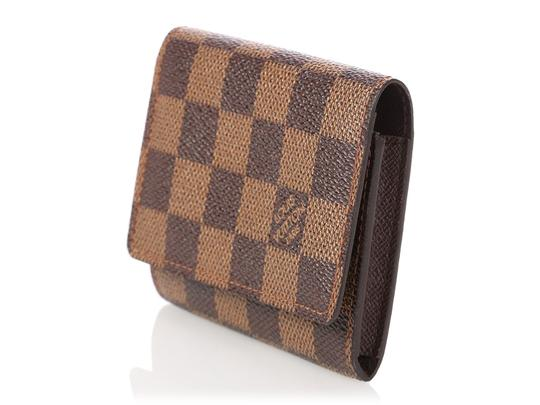 Louis Vuitton Damier Ebene Coated Canvas Card Case Image 2