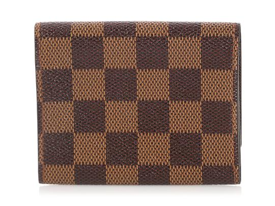 Louis Vuitton Damier Ebene Coated Canvas Card Case Image 3