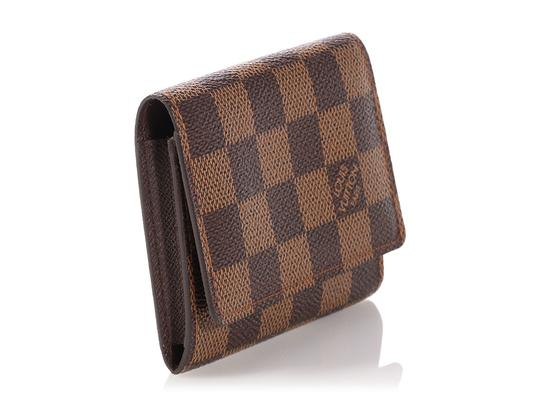 Louis Vuitton Damier Ebene Coated Canvas Card Case Image 4