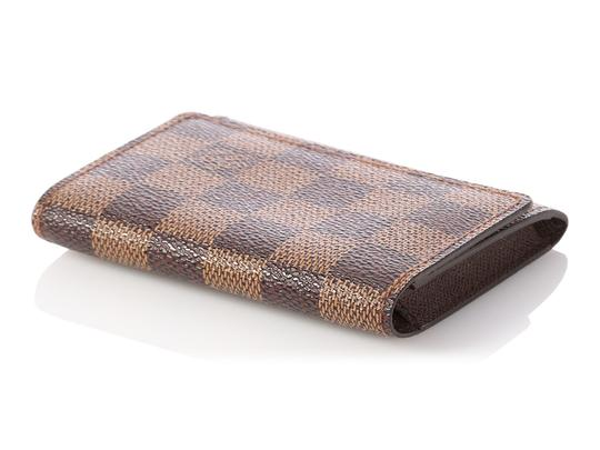 Louis Vuitton Damier Ebene Coated Canvas Card Case Image 6