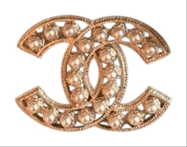 Item - Gold- Pearl Brooch