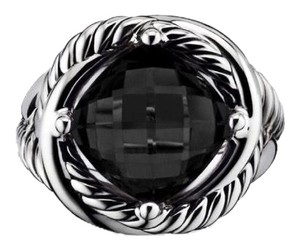 David Yurman DAVID YURMAN * Crossover Infinity Ring * Onyx