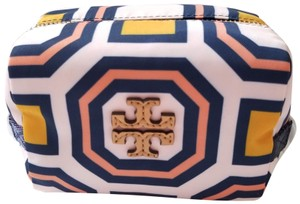 Tory Burch NEW Tory Burch Octagon Square Nylon Cosmetic Case makeup bag Pouch