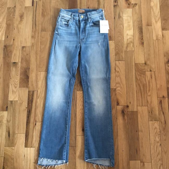 Mother Straight Leg Jeans-Light Wash