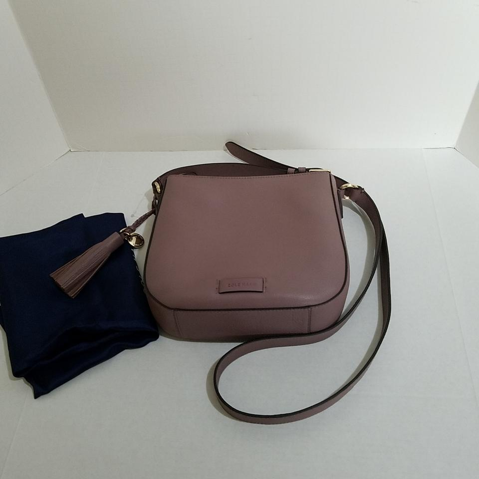 abe398522 Cole Haan Piper Saddle Leather Cross Body Bag - Tradesy