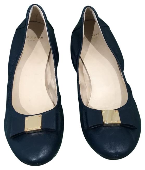 Item - Blue Tali Bow Flats Size US 9 Regular (M, B)