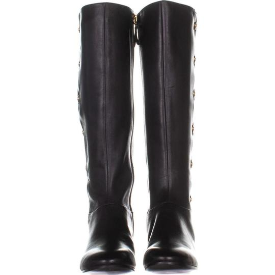56ced42247b Nine West Black Oreyan Knee High Riding 945 Leather Boots/Booties Size US 6  Regular (M, B) 64% off retail