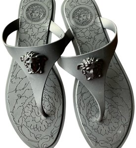 847d5d232c33 Black Versace Sandals - Up to 90% off at Tradesy (Page 2)