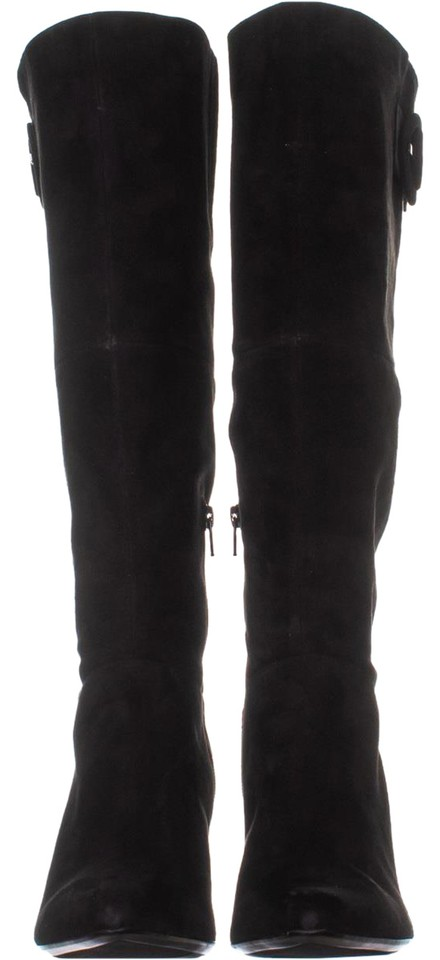 f677dc132ec Naturalizer Black W Harlowe Calf Knee High 935 Suede Boots/Booties Size US  8 Wide (C, D) 64% off retail