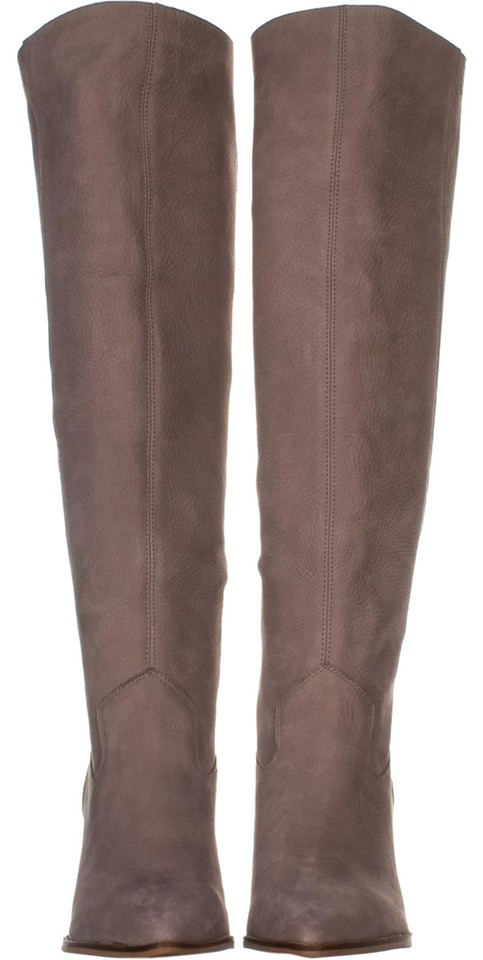 3e24808da7b Lucky Brand Beige Azoola Pointed Toe Knee High 931 Chinchilla Boots Booties