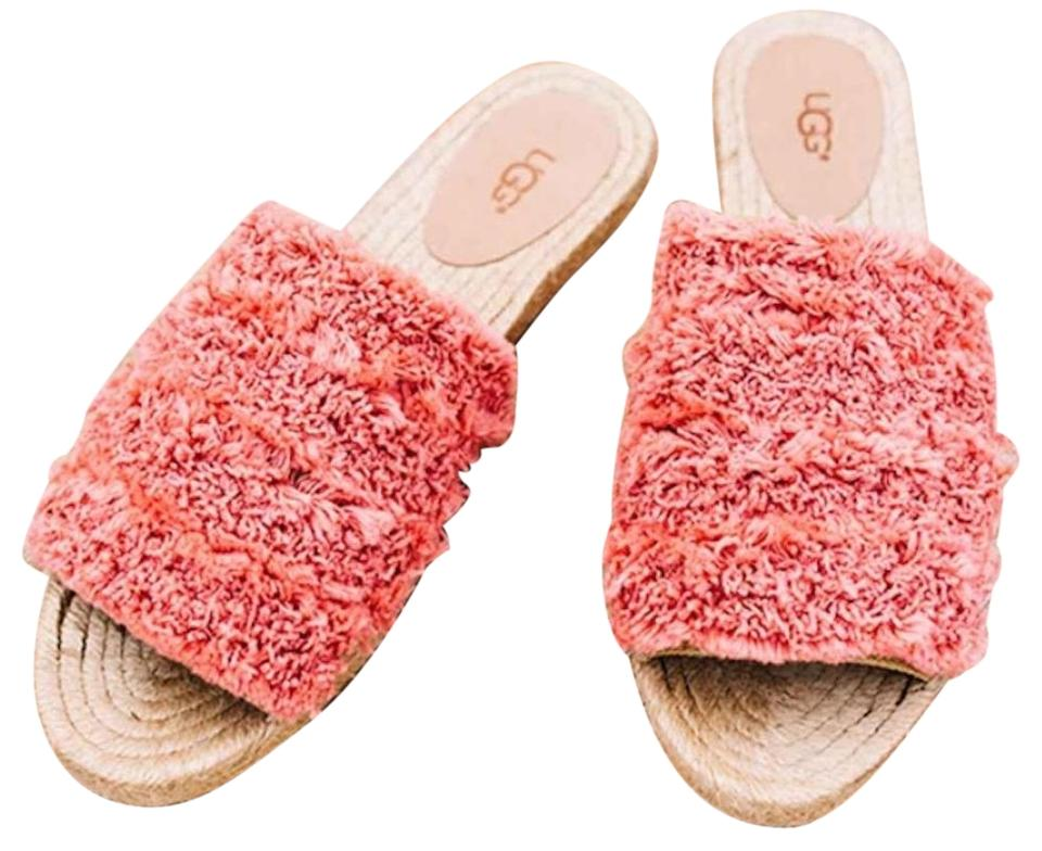 b32c035296a UGG Australia Vibrant Coral Edith Slide Sandals Size US 7 Regular (M, B)  60% off retail