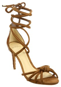 Alexandre Birman Brown Sandals