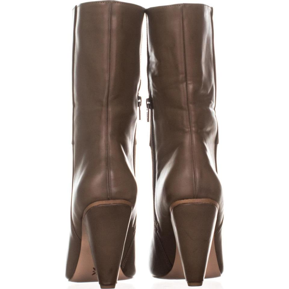 d6d31f8066b2 BCBGeneration Brown Leslie Cone-heel 853 Smooth   39 Boots Booties ...