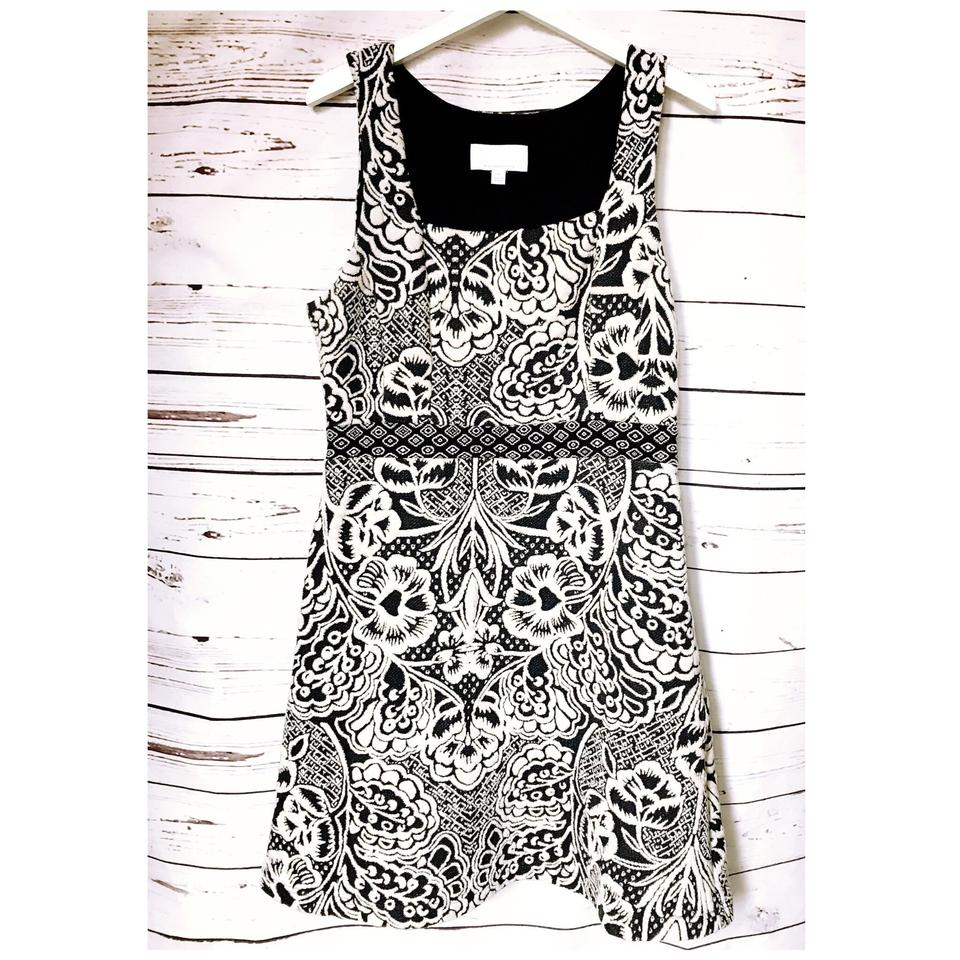 d9ab056a4dd4 Anthropologie Black and White Ett:twa Valery Short Casual Dress Size ...
