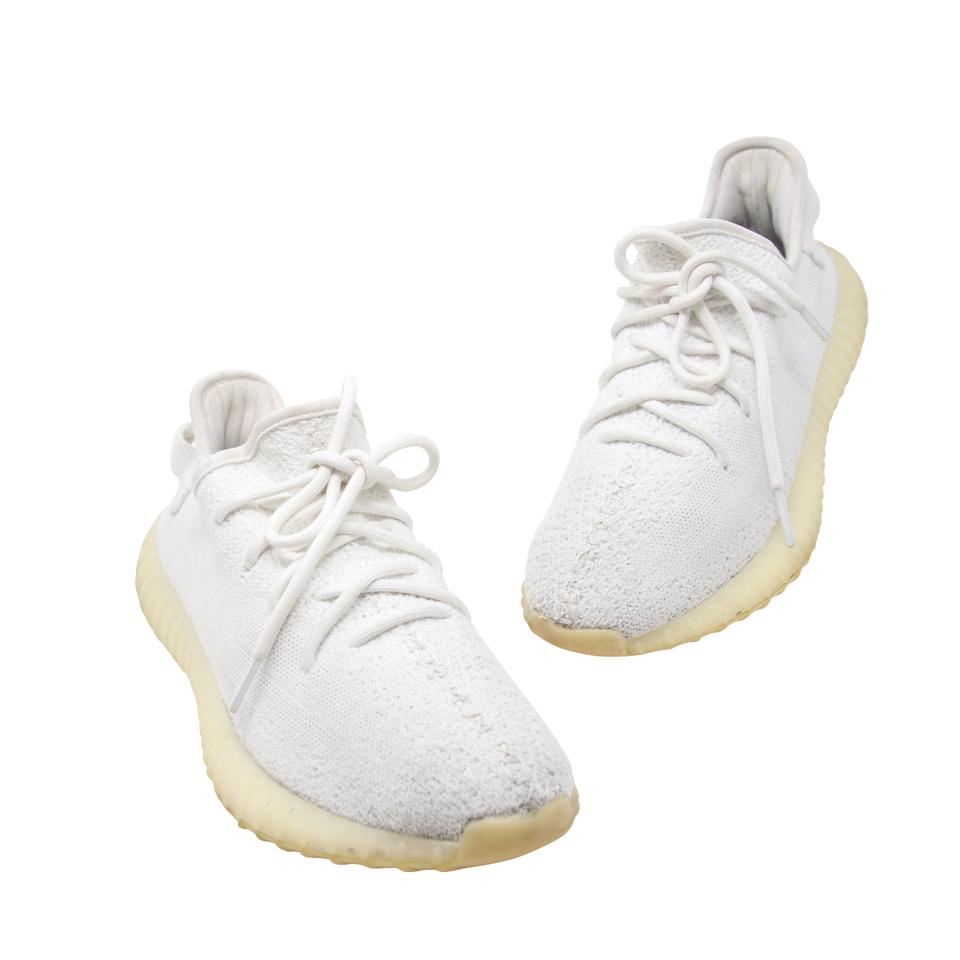 9c8f7e88e9d adidas X Yeezy Kanye West Kanye Jordan Studded Gucci Cream Triple White  Athletic Image 0 ...