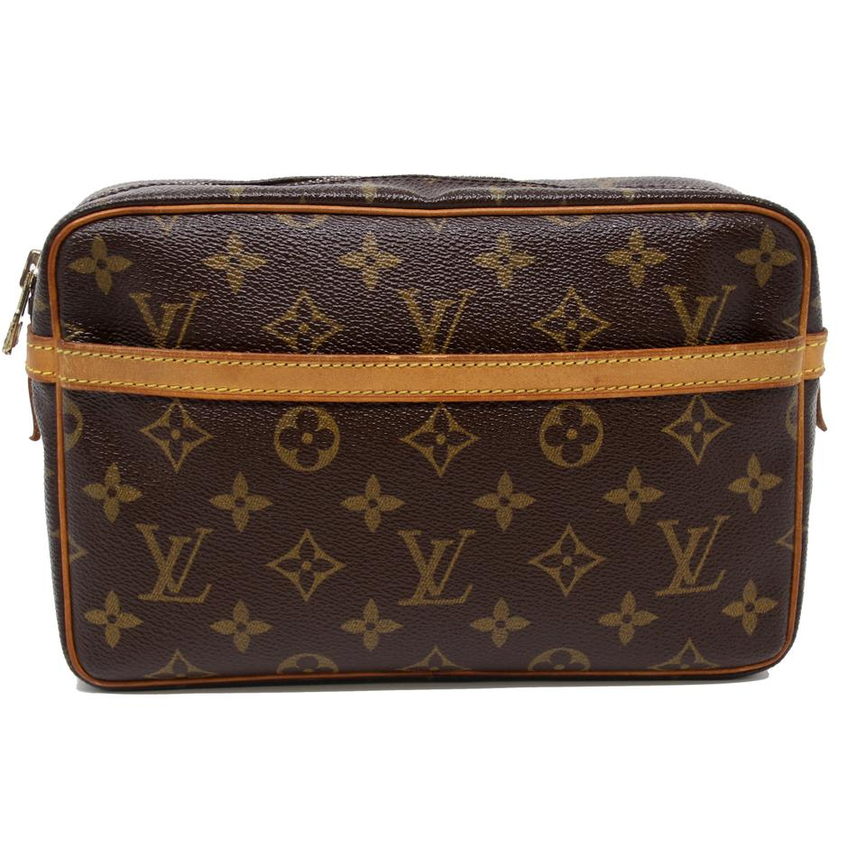 d689dcfda767 Louis Vuitton Neverfull Keepall Vacation Globe Trotter Damier Ebene Brown  Travel Bag Image 0 ...
