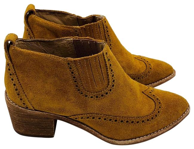 Item - Amber Brown Grayson Brogue Chelsea Boots/Booties Size US 7 Regular (M, B)