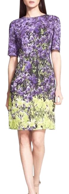 Item - Multicolor Floral Short Night Out Dress Size 2 (XS)