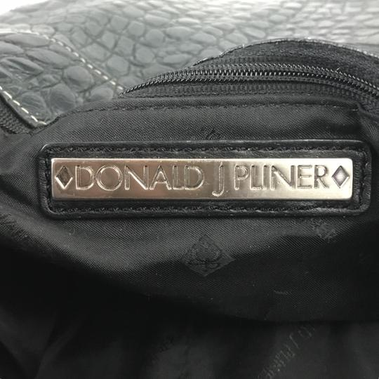 Donald J. Pliner Embossed Western Exotic Hobo Bag Image 7