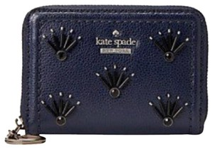 Kate Spade Authentic Kate Spade Dani Embellished Zip wallet with keychain