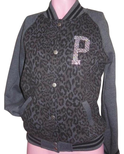 Item - Limited Edition Victoria's Secret Hoodie Varsity Track Bling Jack Gray Sweater