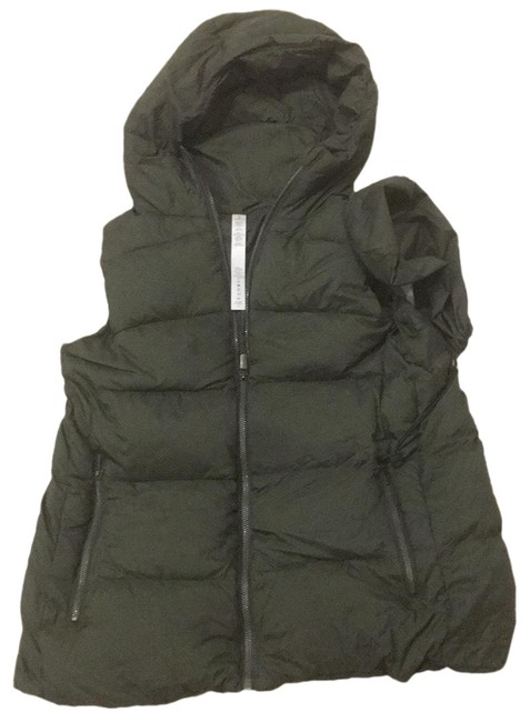 Item - Army Green Down Packable Vest Size 6 (S)