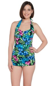 Miraclesuit Tropical One Piece Bathing Suit