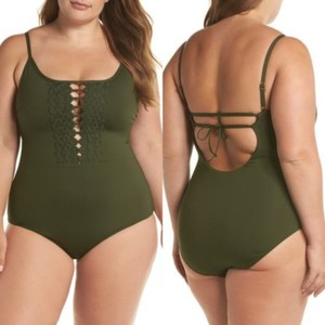 9ab359bcaaec8 Women's Green Becca by Rebecca Virtue Swimwear - Up to 70% off at ...