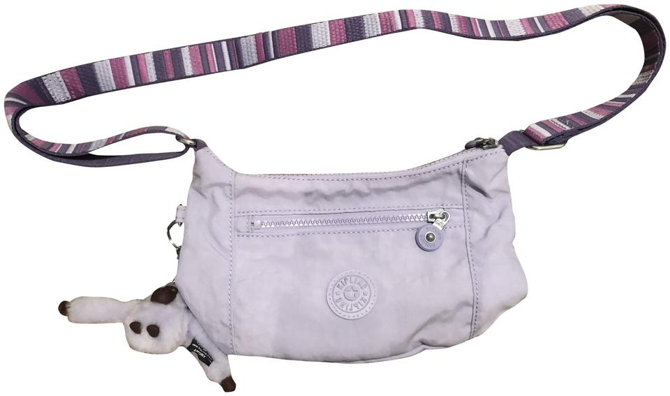 3f7fb713ac Kipling Adel Small Crossbody Dream Mauve C Crinkle Nylon Fabric Shoulder  Bag 27% off retail