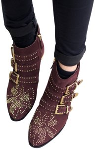 Chloé red brown Boots